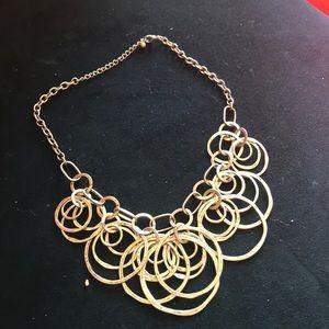 Jewelry - Circle statement necklace